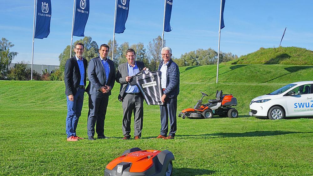 Husqvarna Deutschland wird offizieller Produktpartner