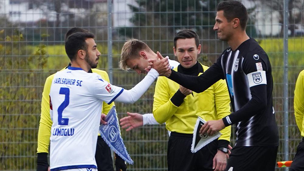 2:3 – knappe Niederlage gegen den KSC