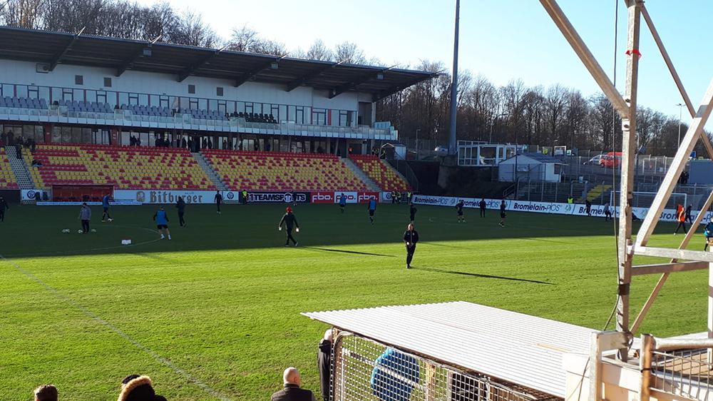 Knappe 1:0-Niederlage in Elversberg