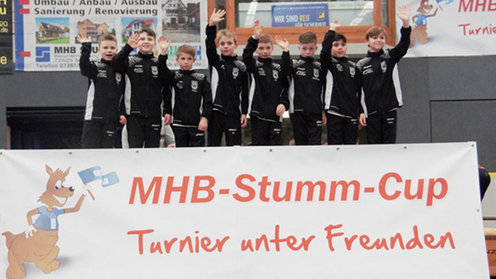 Die U10 wird Zweiter beim hochbesetzen MHB-STUMM CUP