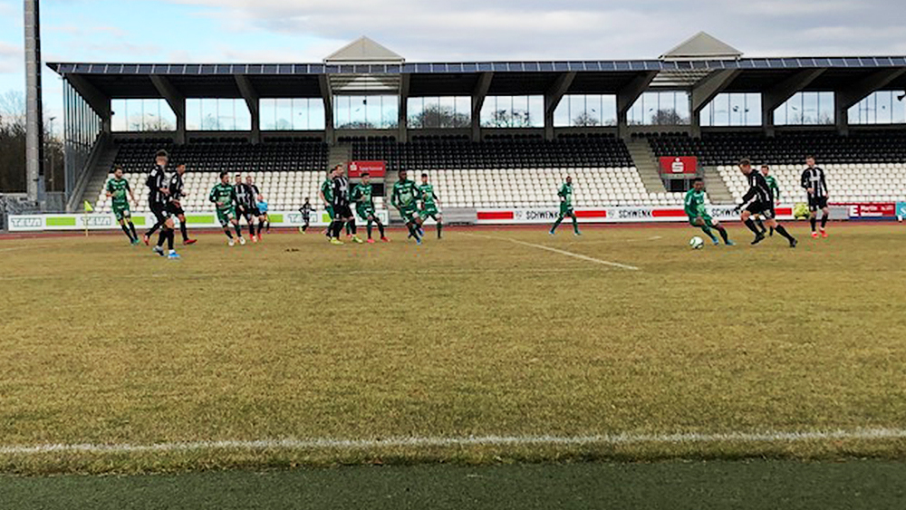 2:0-Sieg gegen Austria Lustenau