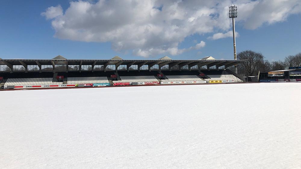 Heimspiel gegen Steinbach abgesagt