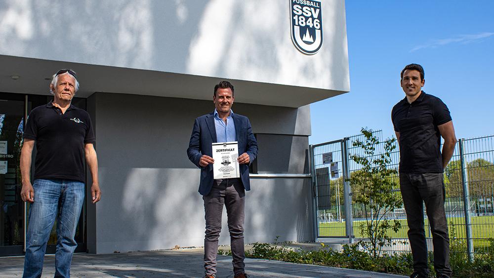 """SSV-Fanclub """"Die Avantgarden"""" spendet 2.000,- EUR"""