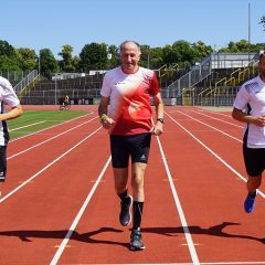 Laufen für den Nachwuchs – BANTLEON und Ulmer Fußballer agieren gemeinsam