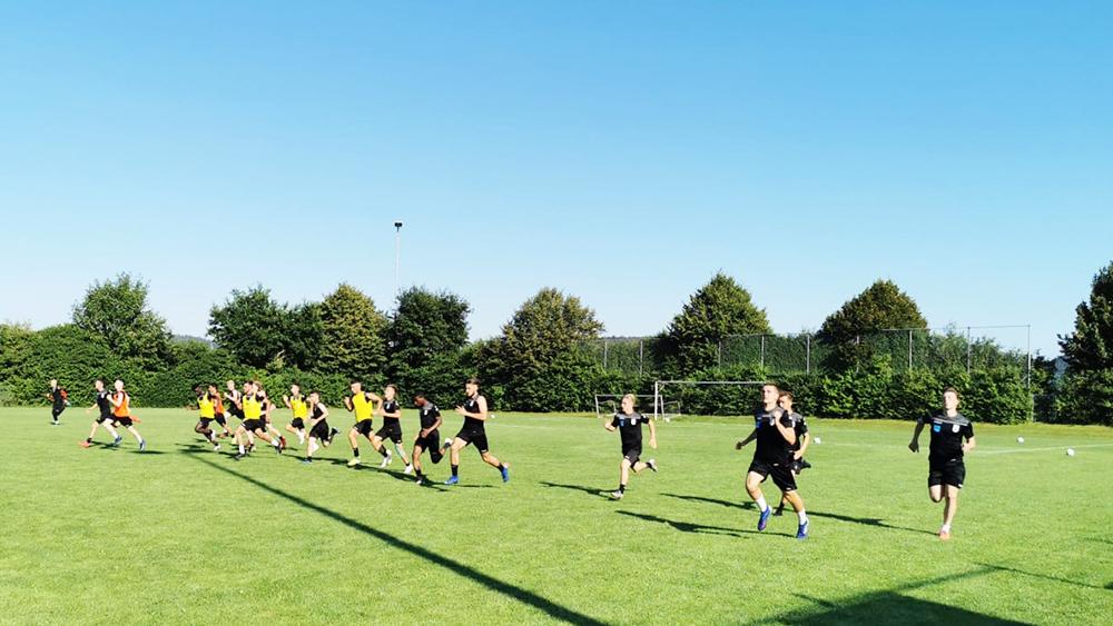 U19 hält Trainingslager im Allgäu ab