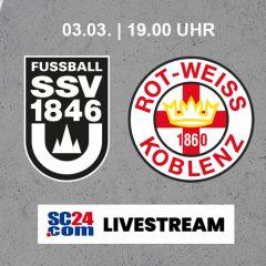 Nachholspiel gegen RW Koblenz
