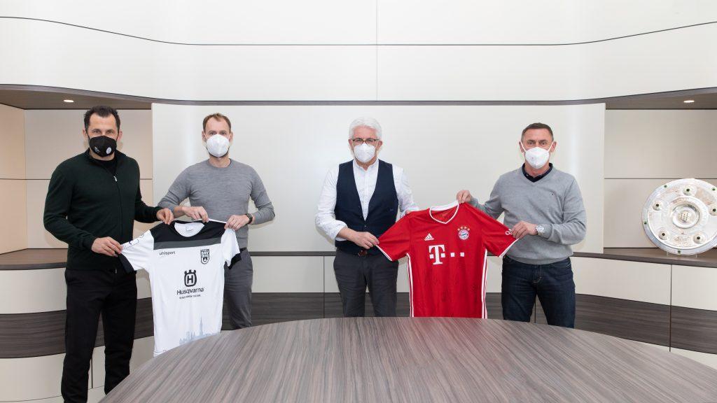 SSV Ulm 1846 Fussball startet Zusammenarbeit mit dem FC Bayern München