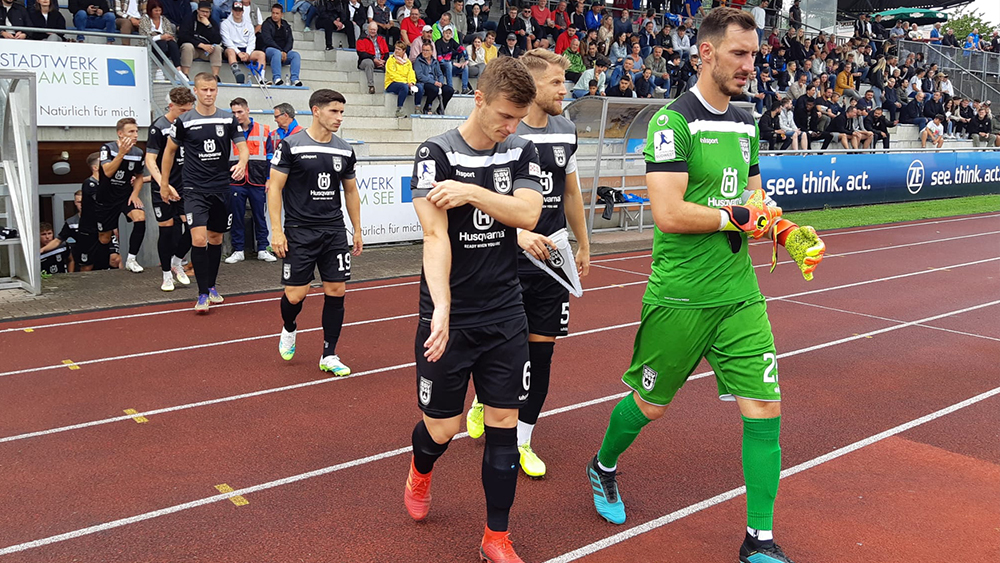 6:0-Sieg beim VfB Friedrichshafen