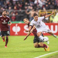 Aus im DFB-Pokal trotz guter Leistung
