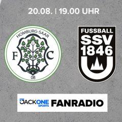 Auswärts beim FC 08 Homburg
