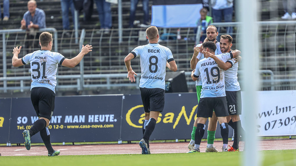 2:1-Heimsieg gegen Hessen Kassel