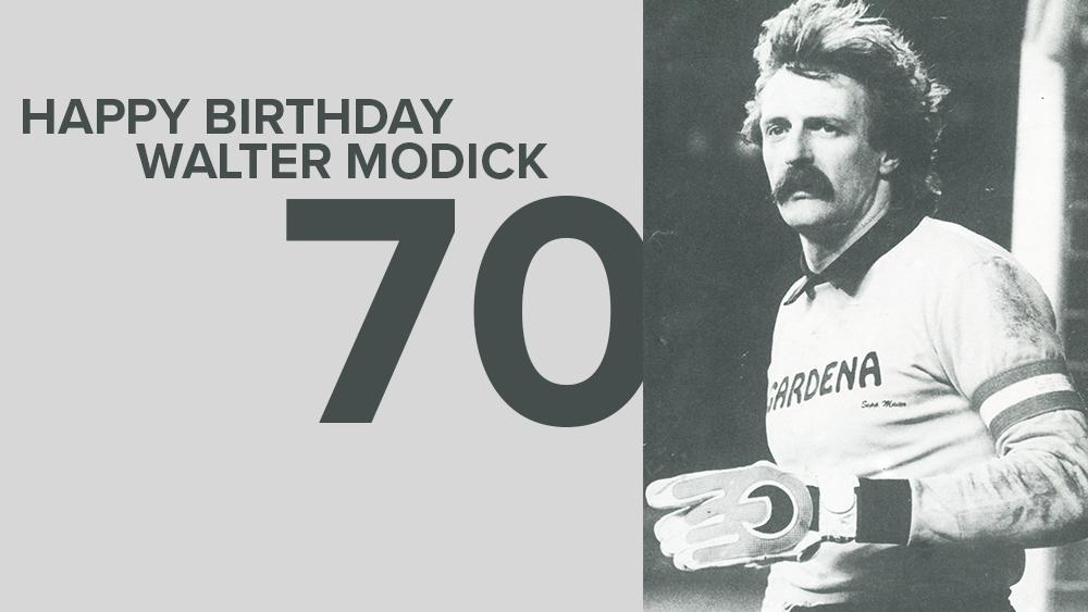 Walter Modick wird 70